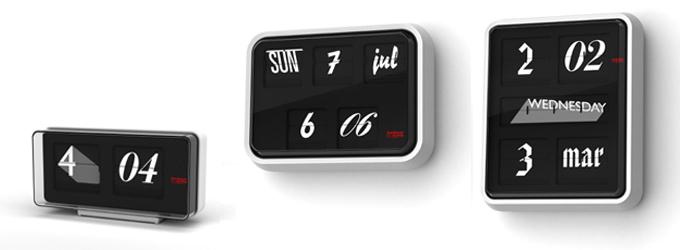 Font Clock - thorsten van elten